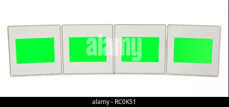 Photo frames for slide isolated on white background. - Stock Photo