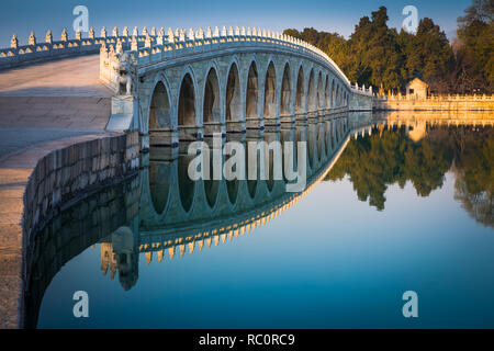 The Summer Palace (Chinese: 頤和園), is a vast ensemble of lakes, gardens and palaces in Beijing.