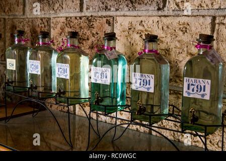 Inside an old parfume shop in Havana - Cuba. Photo taken on 30 October 2018 - Havana Cuba - Stock Photo
