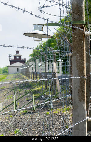 Detail of Buchenwald Concentration Camp near Weimar - Stock Photo