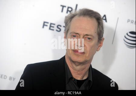 FILE PHOTOS: 12 January 2019. NEW YORK, NY - APRIL 28: Steve Buscemi attends 'Reservoir Dogs' 25th Anniversary Screening during 2017 Tribeca Film Festival at The Beacon Theatre on April 28, 2017 in New York City  People:  Steve Buscemi Credit: Storms Media Group/Alamy Live News - Stock Photo