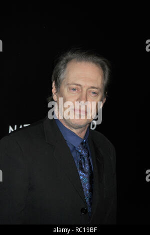 FILE PHOTOS: 12 January 2019. NEW YORK, NY - JANUARY 07: Steve Buscemi  attends the 2014 National Board Of Review Awards Gala at Cipriani 42nd Street on January 7, 2014 in New York City.   People:  Steve Buscemi Credit: Storms Media Group/Alamy Live News - Stock Photo