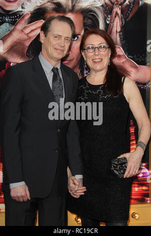 FILE PHOTOS: 12 January 2019. LOS ANGELES, CA - JANUARY 27:  Steve Buscemi_Jo Andres at the 19th Annual Screen Actors Guild Awards held at The Shrine Auditorium on January 27, 2013 in Los Angeles, California.  People:  Steve Buscemi, Jo Andres Credit: Storms Media Group/Alamy Live News - Stock Photo
