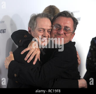 FILE PHOTOS: 12 January 2019. NEW YORK, NY - APRIL 28: Steve Buscemi, Tim Roth attends 'Reservoir Dogs' 25th Anniversary Screening during 2017 Tribeca Film Festival at The Beacon Theatre on April 28, 2017 in New York City  People:  Steve Buscemi, Tim Roth Credit: Storms Media Group/Alamy Live News - Stock Photo