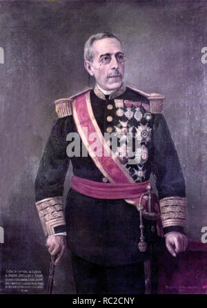 Joaquín Jovellar y Soler (1819 – 1892) Spanish general who served as the Prime Minister of Spain - Stock Photo