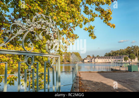Benrath Castle, Duesseldorf, Germany | Schloss Benrath, Duesseldorf, Deutschland - Stock Photo