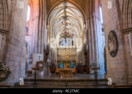 Innenraum der Southwark Cathedral, London, Vereinigtes Königreich Großbritannien, Europa |  Southwark Cathedral interior, London, United Kingdom of Gr - Stock Photo