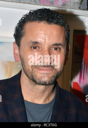 Los Angeles, Ca, USA. 12th Jan, 2019. Lee Quinones at 'If These Walls Could Talk' exhibition at the Charlie James Gallery in Los Angeles, California on January 12, 2019. Credit: Koi Sojer/Snap'n U Photos/Media Punch/Alamy Live News - Stock Photo