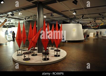 Deutsches Technikmuseum. Interior de una de sus salas. Berlin. Alemania. Europa. - Stock Photo