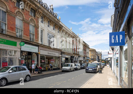 James Street, Harrogate, North Yorkshire, England, United Kingdom - Stock Photo