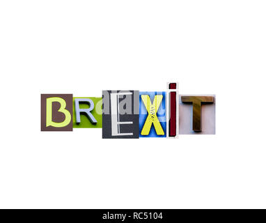 Brexit British Concept. - Stock Photo