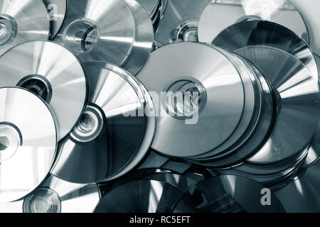 CD Collection - Stock Photo