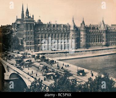 'Paris. - La Conciergerie. - LL, c1910. Creator: Unknown. - Stock Photo