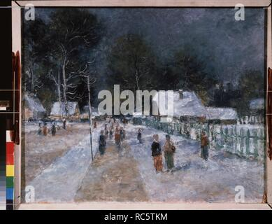 Winter. Museum: PRIVATE COLLECTION. Author: Shevchenko, Alexander Vasilyevich. Copyright: This artwork is not in public domain. It is your responsibility to obtain all necessary third party permissions from the copyright handler in your country prior to publication. - Stock Photo