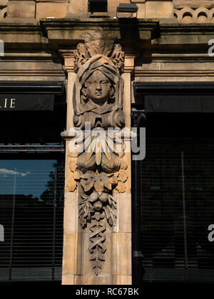 Architectural Details, Belfast - Stock Photo