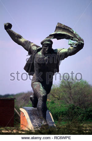Republic of Councils Monument, memento park, budapest - Stock Photo