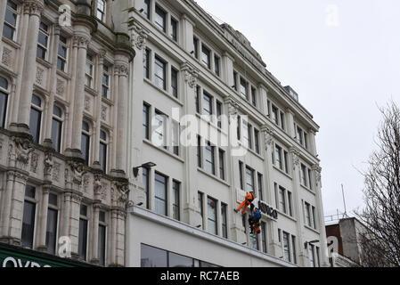 Hotel Indigo Cardiff number 3783 - Stock Photo