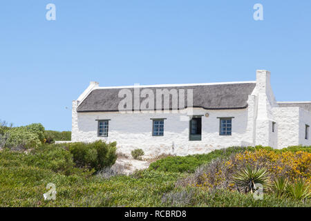The quaint fishing village of Arniston, Agulhas, Western Cape, South Africa, a popular tourist destination - Stock Photo