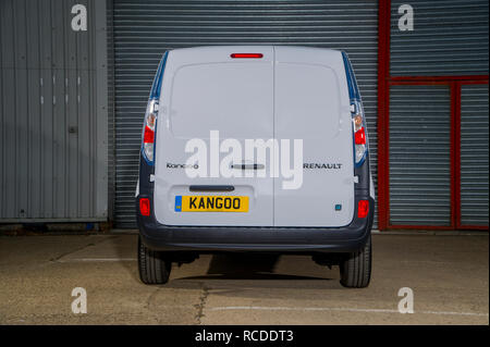 2013 Renault Kangoo ZE electric van - Stock Photo
