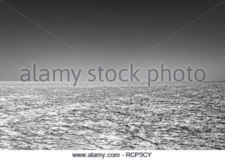 Salt pan - Stock Photo
