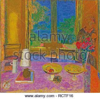Dining Room On The Garden By Pierre Bonnard 1934 1935 Solomon R