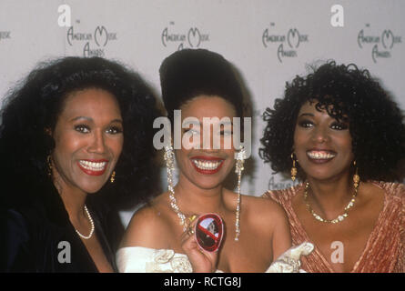 POINTER SISTERS US vocal trio in 1991 at the American Music Awards. Photo: Jeffrey Mayer - Stock Photo