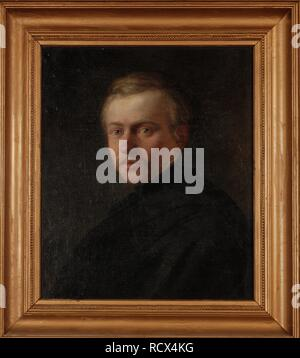 Portrait of the Architect Ivan Gornostayev (1821-1874). Museum: PRIVATE COLLECTION. Author: De Ladvez (Deladvez), Stepan. - Stock Photo