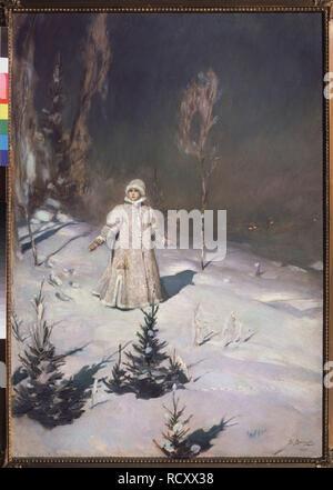Snow Maiden. Museum: State Tretyakov Gallery, Moscow. Author: Vasnetsov, Viktor Mikhaylovich. - Stock Photo