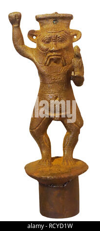 6155. Hamat Gader, Greek inscription - Stock Photo
