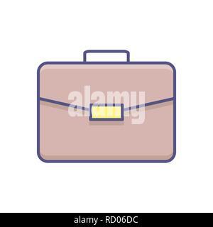 Briefcase Vector Icon. - Stock Photo