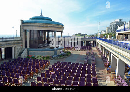 The Bandstand at Eastbourne, East Sussex, UK - Stock Photo