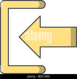 Sign In Sign Icon Vector Illustration For Personal And Commercial Use... Clean Look Trendy Icon... - Stock Photo