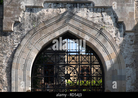 Old city walls of Baku - Stock Photo