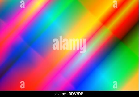 Contemporary retro gradient colors. New wave of 80s style background - Stock Photo