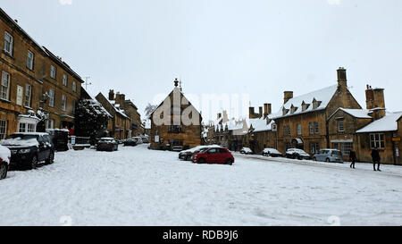 Shops In The Square In The Cotswold Town Of Northleach