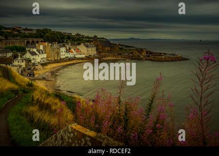 Europa, Großbritannien, Schottland, Küste, Küstenwanderweg, Fife Coastal Path, Kinghorn - Stock Photo