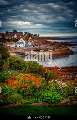 Europa, Großbritannien, Schottland, Küste, Küstenwanderweg, Fife Coastal Path, Crail, Hafen - Stock Photo