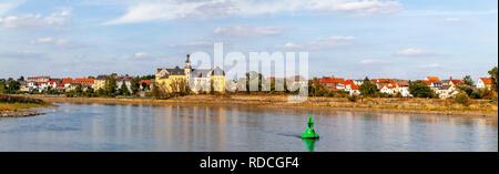 Panoramafoto von Coswig in Sachsen-Anhalt, Deutschland - Stock Photo