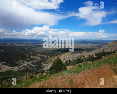 Montezuma valley in Mesa Verde National Park, CO - Stock Photo