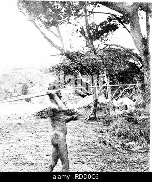 . The confessions of a beachcomber : scenes and incidents in the career of an unprofessional beachcomber in tropical Queensland . Natural history. .. Please note that these images are extracted from scanned page images that may have been digitally enhanced for readability - coloration and appearance of these illustrations may not perfectly resemble the original work.. Banfield, E. J. (Edmund James), 1852-1923. London : T. Fisher Unwin - Stock Photo
