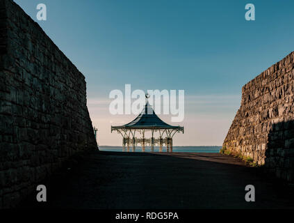 Southsea Band Stand 17.01.19 - Stock Photo
