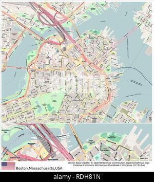 Boston,Massachusetts,United States, - Stock Photo
