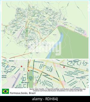 Formosa, Brazil, Sud America,Brasilia,Bisnau - Stock Photo