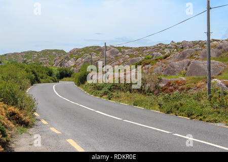 Nature at the Ring of Kerry, Ireland - Stock Photo