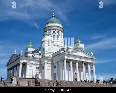 Helsinki Catheral in Helskini, Finland - Stock Photo