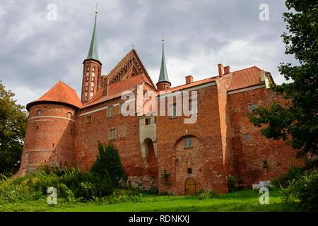 Archcathedral Basilica of the Assumption of the Blessed Virgin Mary and Saint Andrew, Frombork, Warmia-Masuria, Poland Stock Photo