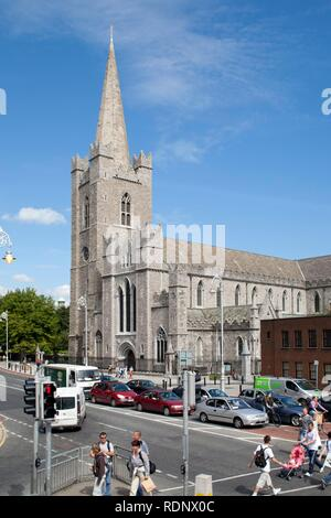 St. Patrick's Cathedral in Dublin, Republic of Ireland, Europe - Stock Photo