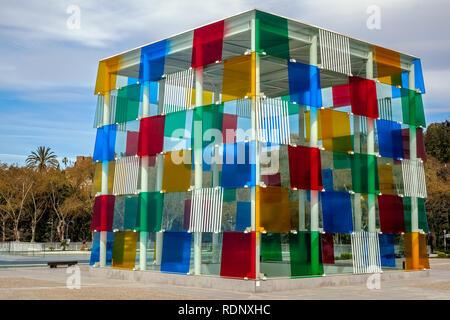 Malaga, Spain - March 23, 2018. - Stock Photo