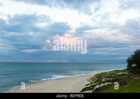 Northern end of Cottesloe Beach, Western Australia, Australia - Stock Photo