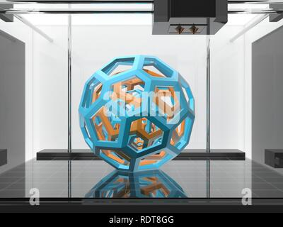 Three-dimensional printing machine - Stock Photo
